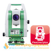 New Leica TS02 plus 3 R500 Total Station
