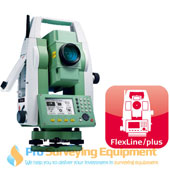 New Leica TS06 plus 1 R500 Total Station