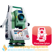 New Leica TS09 plus 1 R500 Total Station