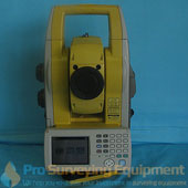Topcon QS-3 Robotic Total Station with FC2600 and RC-4